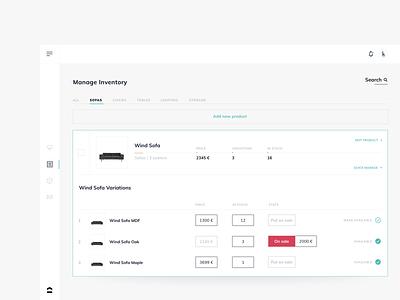 Dashboard 1 typography design minimalistic ui shop ux dashboard