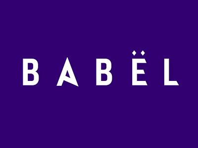 Logo Animation for Babel Creative Community typography motion animation animated logo logo animation logo zajno