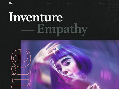 Inventure Case Study case study photography clean website game design web zajno