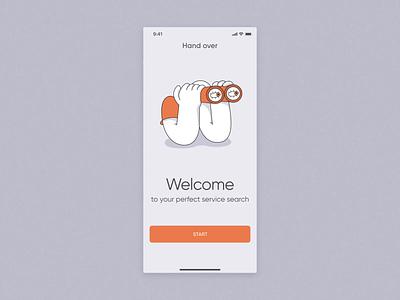 Freelance Service Search Mobile App animation app mobile freelance art zajno