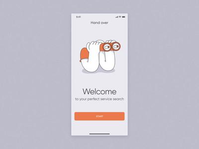 Freelance Service Search Mobile App