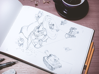 Illustration Sketch for Make Good Project