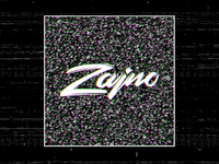 Zajno Logo Animation: Glitch Effect