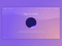 Promo Website for Maslo AI, a Digital Companion