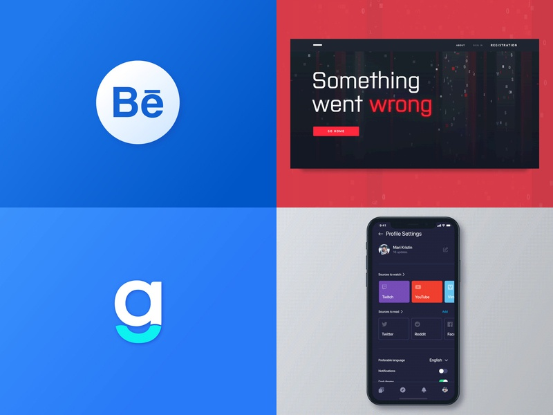 Top 4 of 2018 branding top 2018 2d bright colors abstract promo website vibrant futuristic technology web design smooth logotype logo motion design animation identity clean ux ui zajno