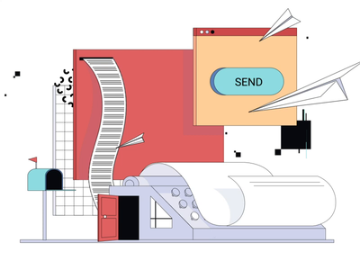 Newsletter Illustration for Medium Article
