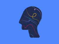 Let colors inside - Mobile App Animated Illustration