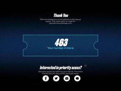 Finance App Interactive WebGL Experience