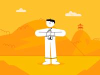 Kung Fu Master Animation