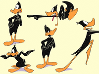 Daffy Duck Character Animation
