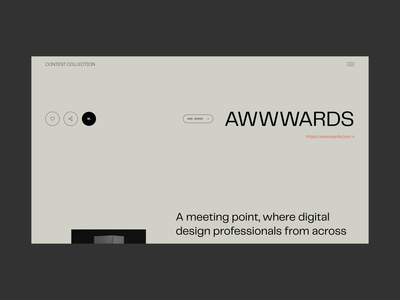 Website for Finding Design Contests and Awards