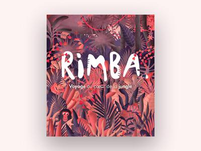 Rimba Project paris gobelins unity parallax landscape jungle ipad interactive illustration game children