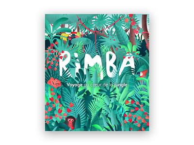 Rimba Project unity paris parallax landscape jungle ipad interactive illustration gobelins game children