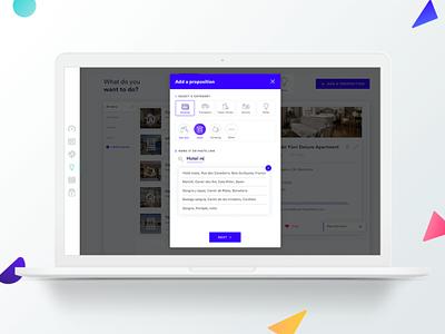 Rise ux interactive ui travel form design form app gobelins design