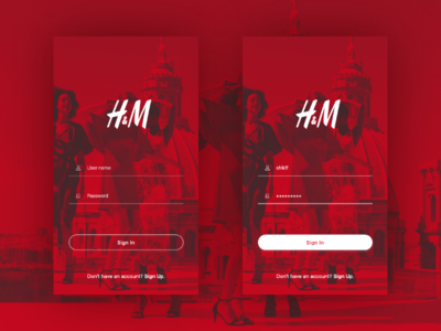 Daily UI challenge #001 – Sign In