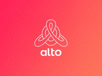 Alto Minimalistic Outline Logo for Advising Company