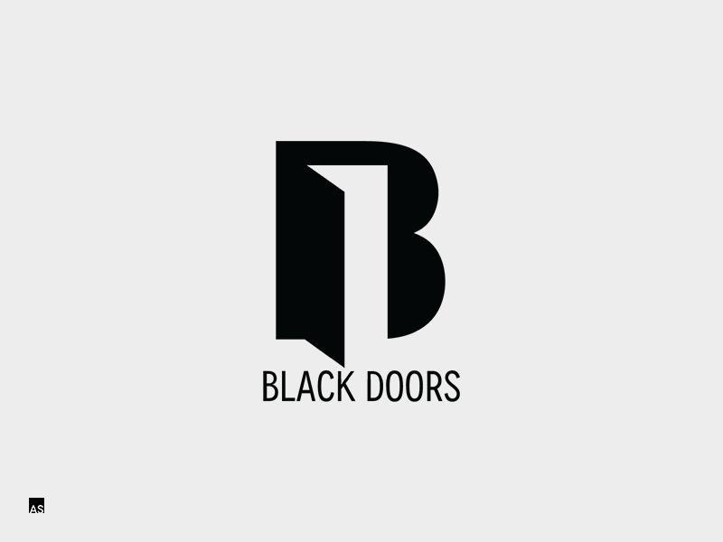 Black Doors Logo By Aivaras Simonis Dribbble