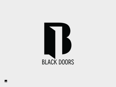 Black Doors | Logo  sc 1 st  Dribbble & Black Doors | Logo by Aivaras Simonis - Dribbble