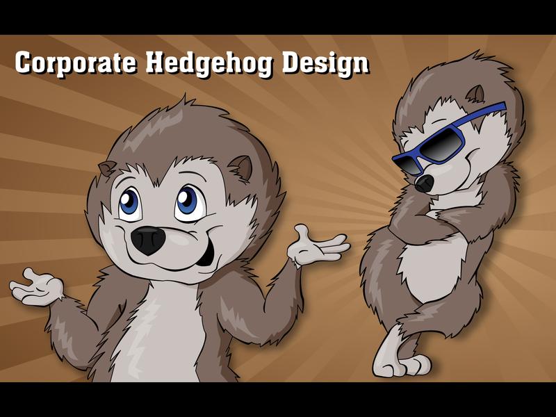 Corporate Hedgehog Design