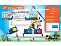 Lets Build a Portal Infographic