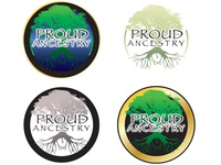 Proud Ancestry Logo Concepts