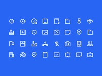Nav Icons system design icon set system icon icon
