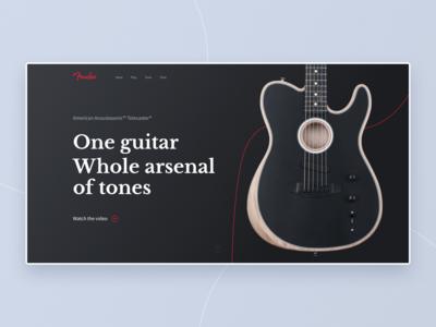 Fender Acoustosonic Telecaster