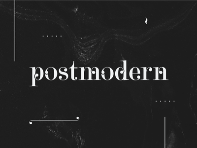 Postmodern Typeface black and white design vector art vector font design flourish serif font serif elegant font type design graphicdesign typetool illustrator visual design graphic design typedesign typography type typeface