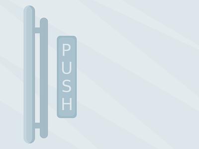 Push illustration vector playoff