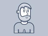 Personal Avatar illustration vectorart characterdesign flatart avatar vector