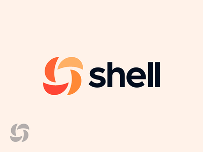 Shell colorful logo mark design logo mark symbol logo mark logo design shells shellfish sand shell vector exploration identity symbol monogram icon brand branding logo