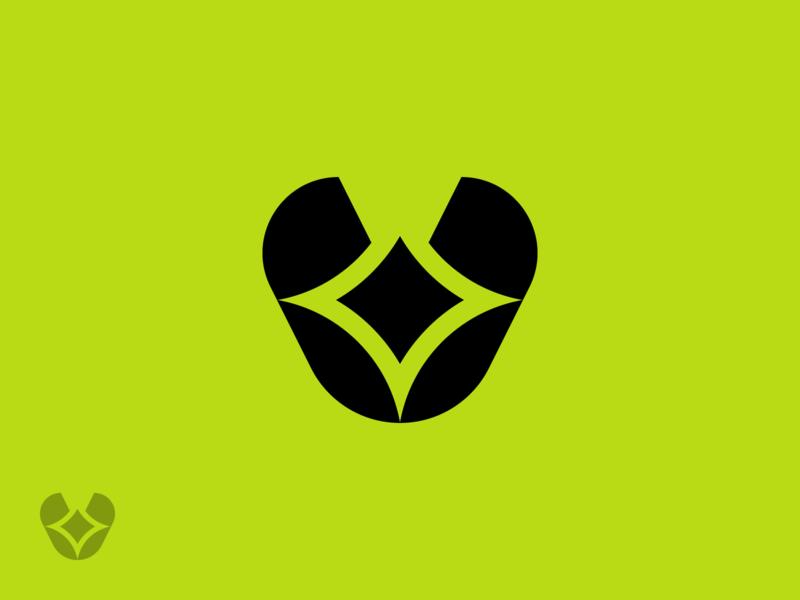 V ✨ stars star sparkler sparkle sparkles letter v mark letter v logo logo mark design logo mark symbol logo mark logos logo design brand identity brand identity design symbol icon monogram brand branding logo