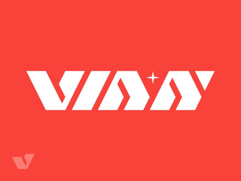 Vian v logo star logo star vian wordmark logo wordmark text logo logo-exploration logo mark logo design brand identity brand identity design icon monogram brand branding logo