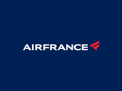 AirFrance ✈ 🇫🇷 summer vacation planes francais logo mark brand identity brand identity design monogram brand branding logo icon france airways airlines fan art logo design redesign logo airline logo airline