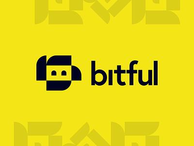 Bitful - Brand identity 2020 identity monogram brand branding behance project brand identity design esports content creation gamers twitch streaming bucks happy robot logo mark design logo design brand identity