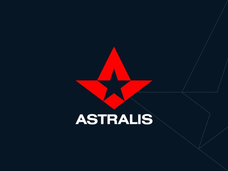Astralis ⭐️ personal project monogram logo star logo astralis astra asteroid esport logo esports logo designer logo design exploration identity brand identity brand identity design symbol icon monogram brand branding logo