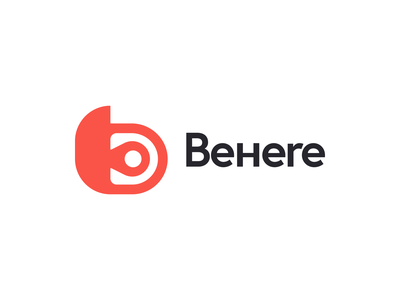 Behere travel app travel location location tracker pin to be here behere monogram identity brand identity brand branding logo