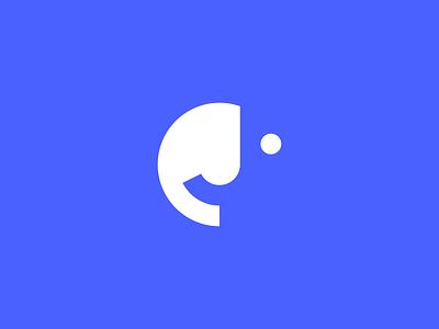 J + 🙂 joy simple design eye happy emoji smiley smile logo mark logo design identity symbol icon brand identity design brand identity brand monogram logo branding