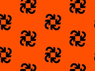 Synkro Pattern arrow logo arrow arrows orange pattern design pattern art logo mark logo design brand identity brand identity design symbol icon monogram brand branding logo