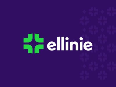 Ellinie, Final cross logo simple design agency logo pattern agency agency branding logo mark logo design brand identity brand identity design symbol icon monogram brand branding logo