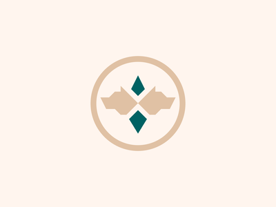 Dizbog, Final Version logo marks jewel animal logo wolf wolf logo logo mark logo design identity brand identity design brand identity exploration symbol icon monogram brand branding logo