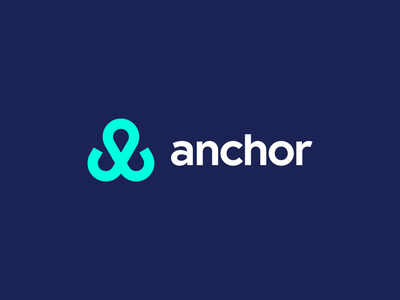 Anchor ocean logo blue anchor logo sea anchor logo exploration exploration identity brand identity design brand identity symbol icon monogram brand branding logo