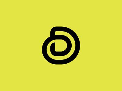 D logo mark symbol logo mark letter d logo mark letter d logo logodesign logo design exploration brand identity design brand identity icon linework line art monogram brand branding logo
