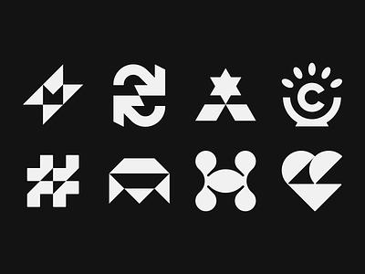 Sparks & Marks monochrome design logo concept logo marks logo mark design logo mark logos logo collections logofolio bechance project brand identity brand identity design icon monogram brand branding logo
