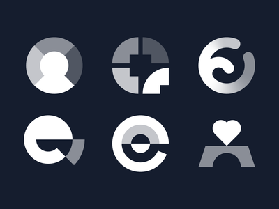 Eiffel, Logo-concepts value opacity circle mindfullness mind logo mark logo mark design logomarks logo proposals logo concepts logo collection logo design design brand identity brand identity design icon monogram brand branding logo