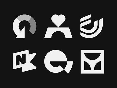 ⚡️ SPARKS & MARKS 4 marks sparks behance project behance logomark design logomark logomarks logos logo project logo collection logofolio design brand identity brand identity design icon monogram brand branding logo