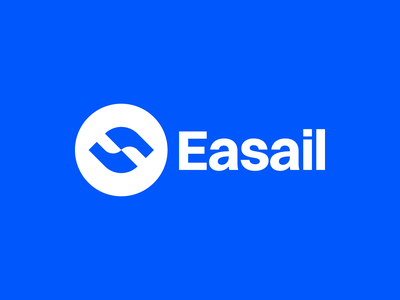 📈 Easail blue tool market app icon logomark design logomark design brand identity brand identity design icon monogram brand branding logo breakfastbrief logochallenge marketing tool marketing email app