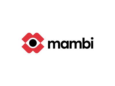 👁 Mambi logo icon brand identity project visual identity identity logo project behance project design ui illustration brand identity brand identity design icon monogram brand branding logo