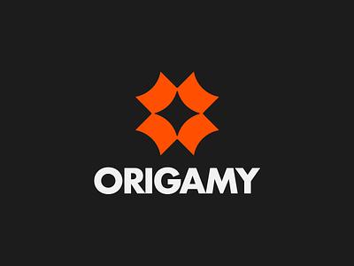 📄 Origamy logo design breakfastbrief app origami logo origami logo challenge logomark design logomark logo icon design brand identity brand identity design icon monogram brand branding logo