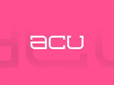 Axel 'Acu' Rasanen illustration rebound new identity brand textlogo acu logo redesign branding